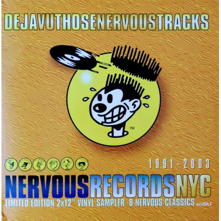 Various ‎– Deja Vu Those Nervous Tracks (2 LP)